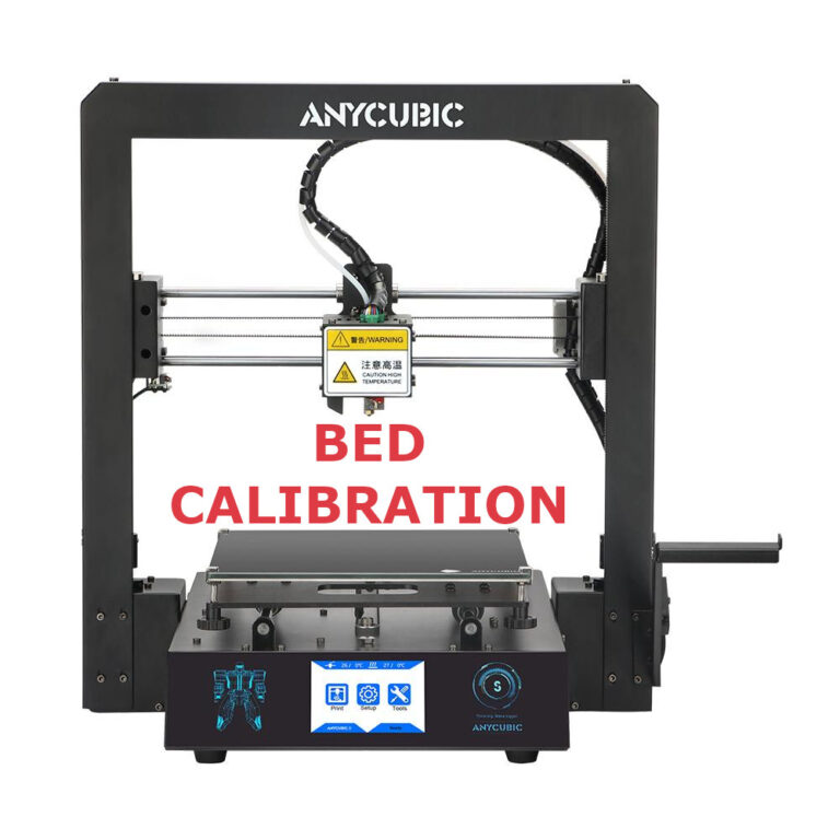 Anycubic i3 Mega S Bed Calibration