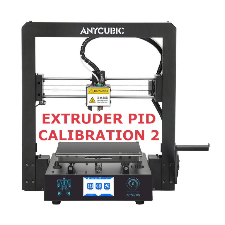 Anycubic i3 Mega S PID Calibration Pronterface