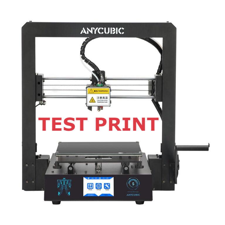 Anycubic i3 Mega S Test Print