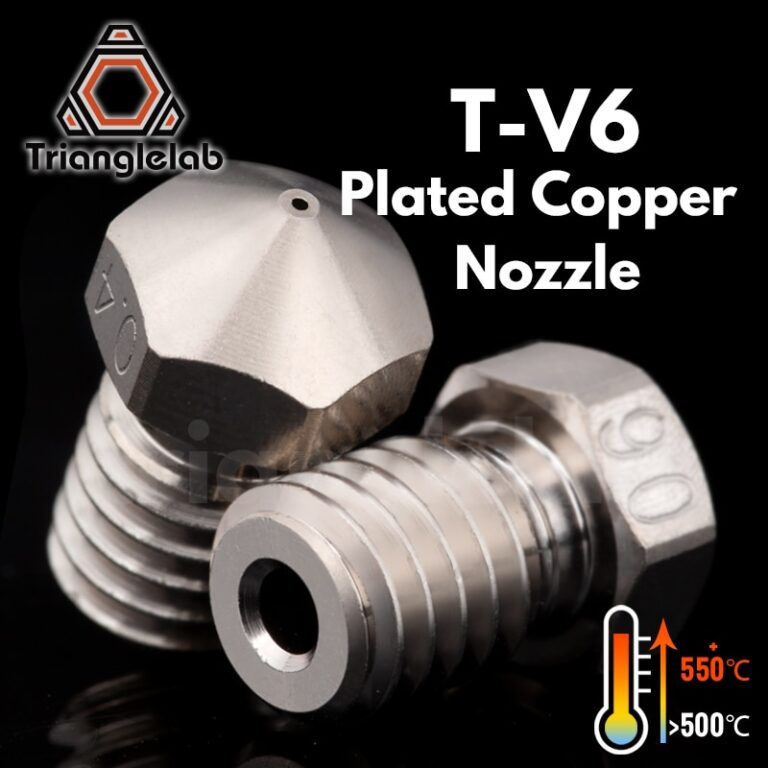 V6/V5 Nickel Plated Copper Nozzles