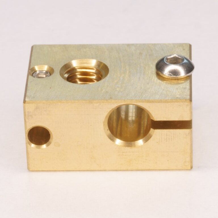 V6 Brass heater block
